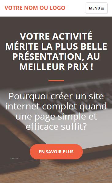 site internet compatible mobile
