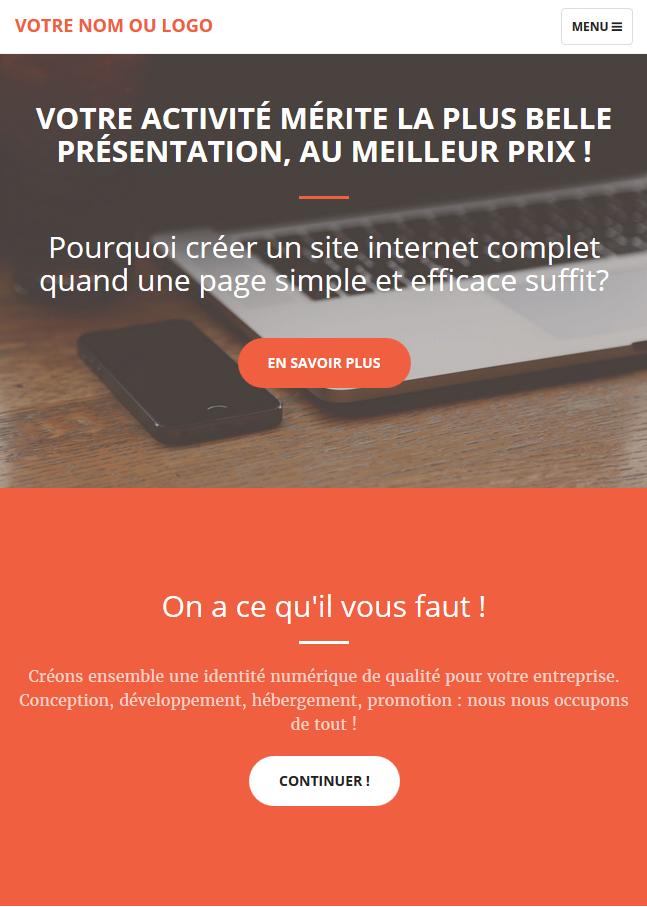 site internet compatible tablette