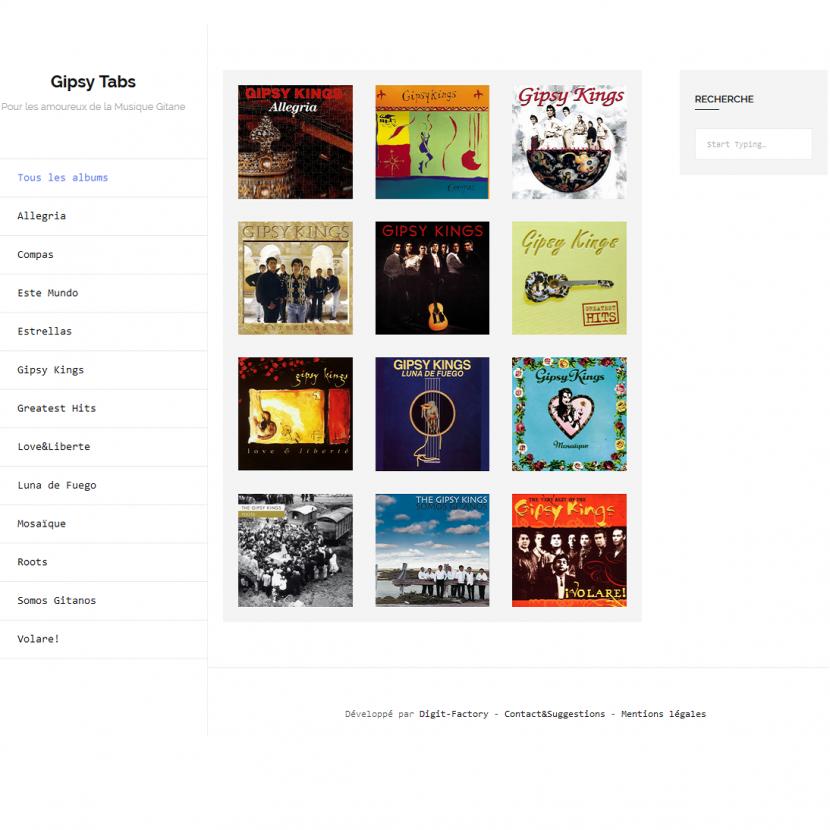 creer site musique