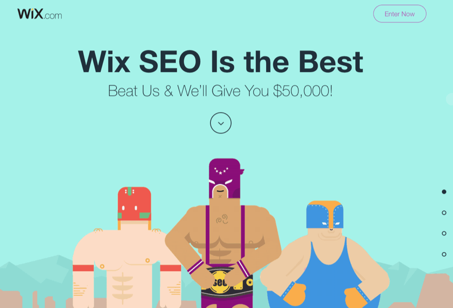 referencement naturel seo wix