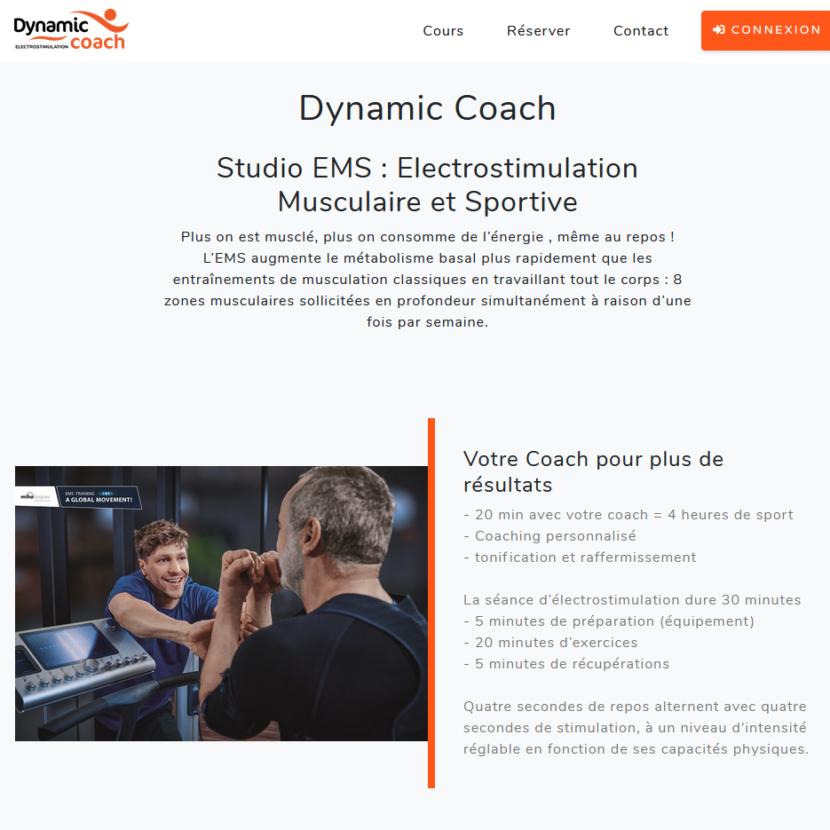 site internet personnalisé