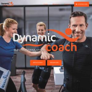 creation site internet dynamic coach