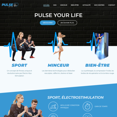 creation site internet pulseyourlife