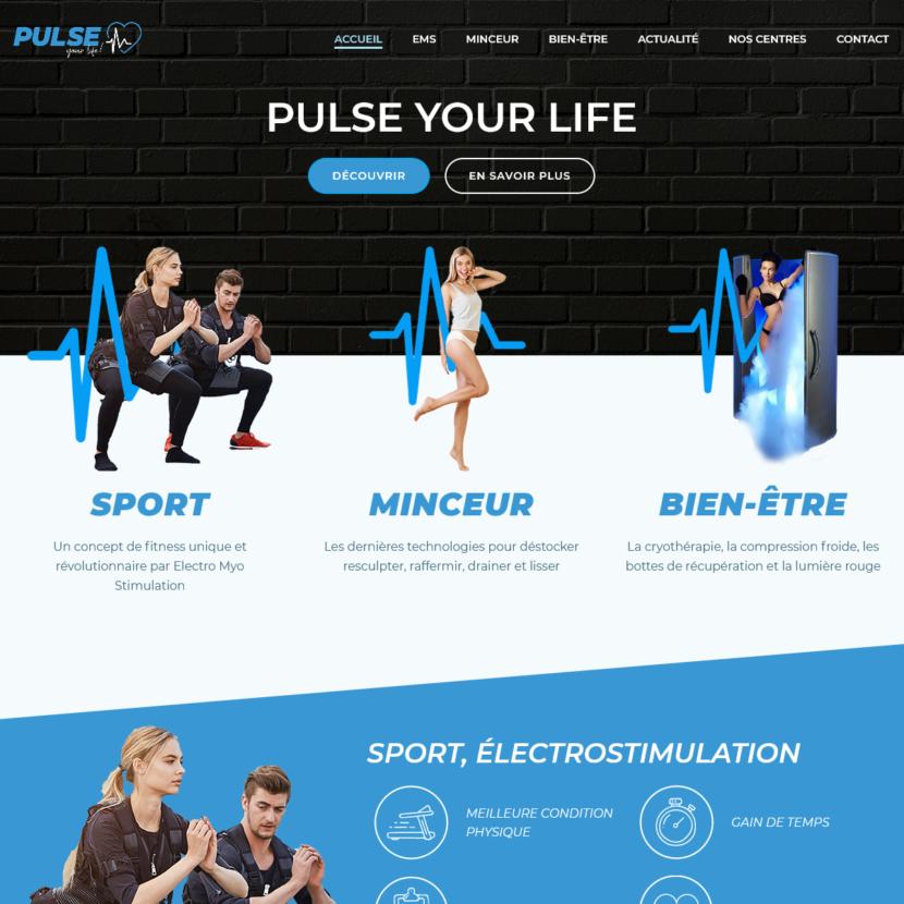 creation site internet pulseyourlife