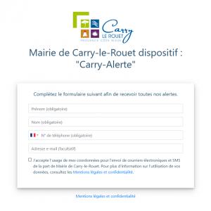 carry-alerte